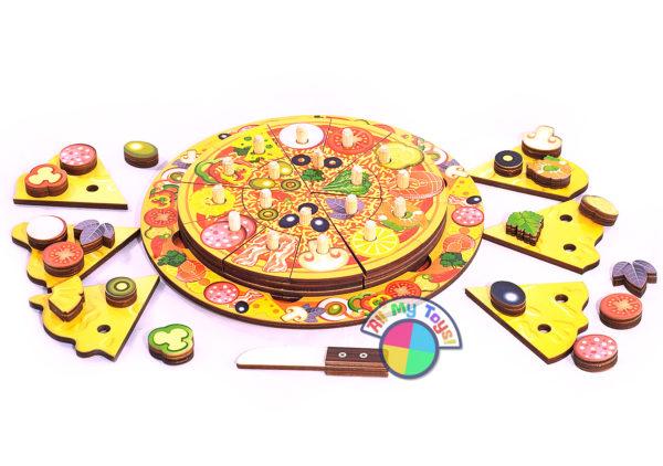 Развивающая игра Пицца
