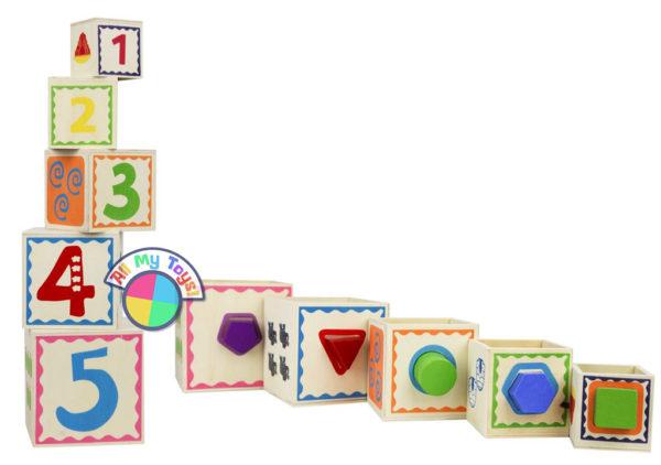Сортер-матрешка «Волшебный куб»